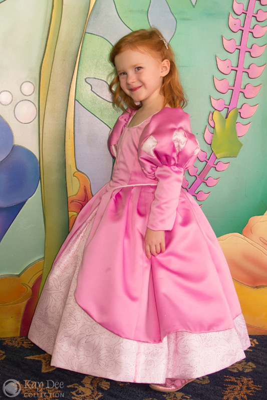 Kay Dee Collection Costumes - Ariel&39s Pink Dress for Child