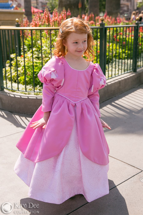 Kay Dee Collection Costumes Ariel S Pink Dress For Child