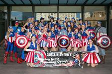 Captain America USO Girls