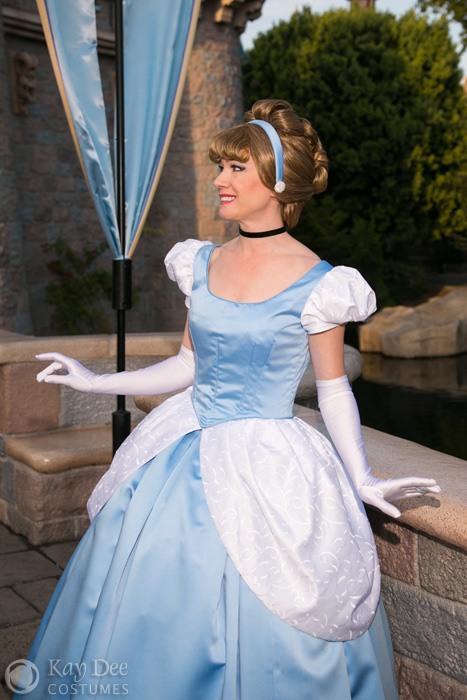 Kay Dee Collection Costumes - Cinderella Blue Ball Gown Cosplay