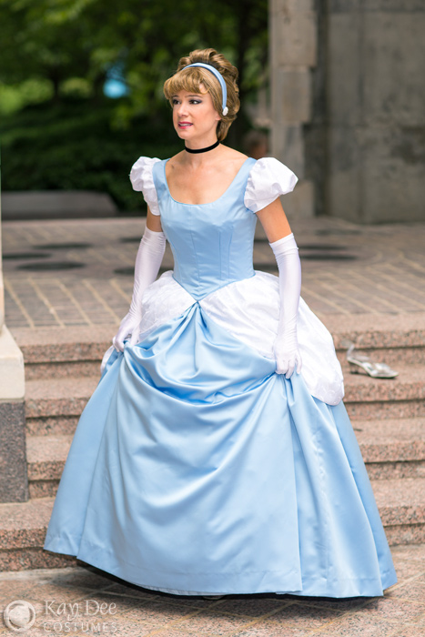 Cinderella Cosplay Cinderella Cosplay Cinderella Costume Cinderella Costume ...  sc 1 th 275 & Kay Dee Collection Costumes - Cinderella Blue Ball Gown Cosplay