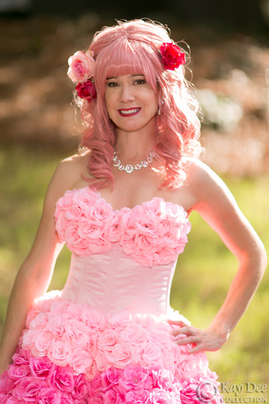Kay Dee Collection Costumes Layer Cake Flower Dress