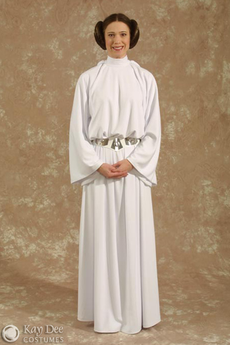 Kay Dee Collection Costumes Star Wars Princess Leia Costume