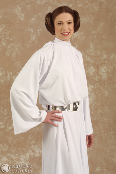 kay dee collection costumes star wars princess leia costume. Black Bedroom Furniture Sets. Home Design Ideas