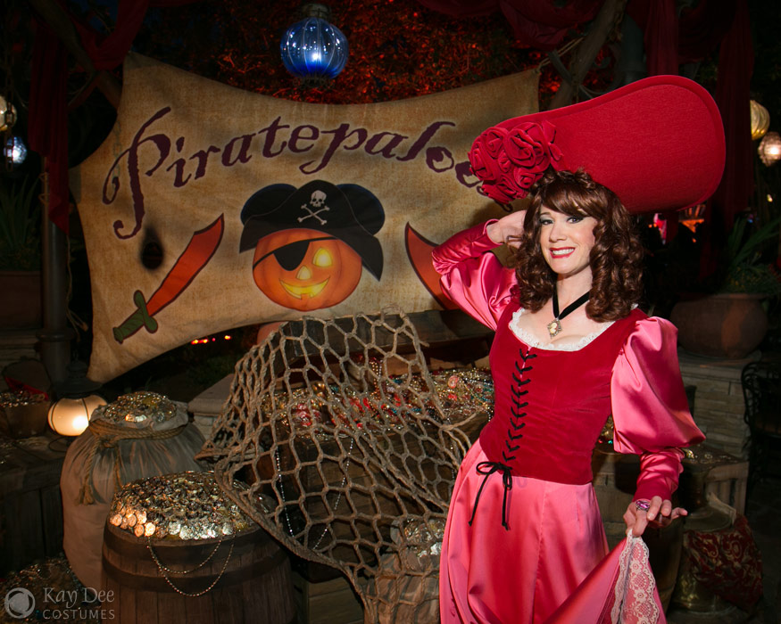 Redheaded Pirate Wench Costume  sc 1 th 201 & Kay Dee Collection Costumes - Pirates of the Caribbean Redhead