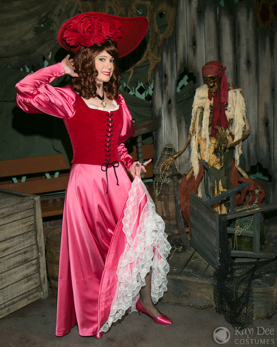 Kay Dee Collection Costumes Pirates Of The Caribbean Redhead