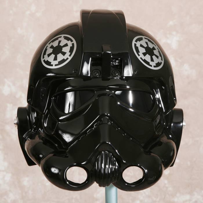 Kay Dee Collection & Costumes - Star Wars Tie Pilot Costume Tie Fighter Pilot Helmet