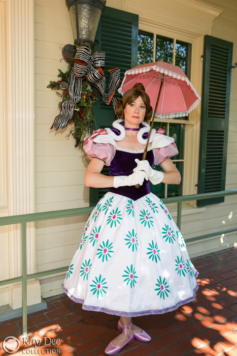 Haunted Mansion Stretching Pictures Skirt for Gals Disney Tight rope Walker